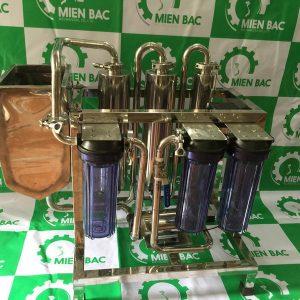 Máy lọc rượu lọc sạch tạp chất độc tố: andehit, methanol, este,…